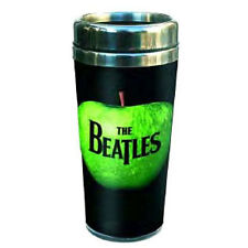 The Beatles - Apple Logo Ceramic Insulated Travel Mug - New & Official In Box