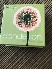 Benefit Dandelion Brightening Face Powder — New — .25 Oz