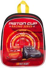Cars 3 McQueen Backpack Kids Bag Rucksack School Nursery Boys - Junior Size