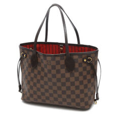 LOUIS VUITTON Damier NEVER full PM Tote Bag N 51109 Old type Free Shipping