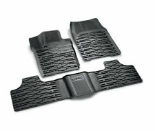 Jeep Grand Cherokee 2014 - 2016 Set of 3 Rubber Mats New Genuine 82213977