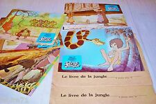 LE LIVRE DE LA JUNGLE ! w disney jeu 18 photos cinema lobby cards animation 1967