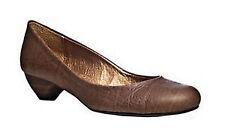 Women's Leather Kitten Heels