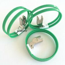 1 X Industrial Sewing Machine Ring Teflon Foot Roller for Leather PVC Plastic
