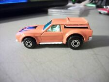 LESNEY MATCHBOX SUPERFAST #34 VANTASTIC MODIFIED MUSTANG ORANGE 1976 NICE