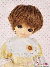 "(50% Off)【ND-GL04】6~7"" Heat-Proof Short Wigs(YOSD/DOC/Ellowyne) # Brown"