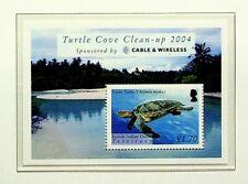 BRITISH INDIAN OCEAN TERRITORY 2004 TURTLE COVE CLEAN-UP MINT SHEET