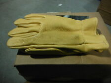 ANSELL HAWKEYE 100% ELKSKIN GLOVES 46-311 276180 Size L (Large) ~ BRAND NEW!