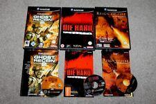 Nintendo Gamecube-GHOST RECON 2 + DIE HARD + Reign of Fire-très bon état