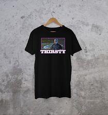 """THIRSTY"" Serial Killer T Shirt JASON  Vintage Inspired Skate Fuct Viral Punk"