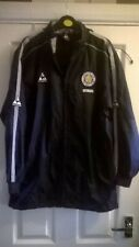 LEICESTER CITY FOOTBALL CLUB COAT/JACKET ~ SIZE L BOY ~ WITH HOOD