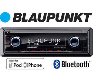 Blaupunkt in car radio Brisbane 270 BT stereo Bluetooth MP3 AUX iPhone Samsung