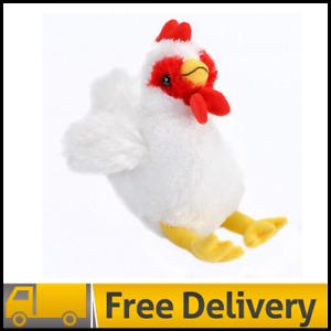 Wild Republic Chicken Plush, Stuffed Animal, Plush Toy, Gifts for Kids, Hug'ems,