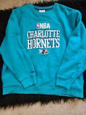 Charlotte Hornets Mitchell & Ness NBA Crew Sweatshirt Size 52 2XL
