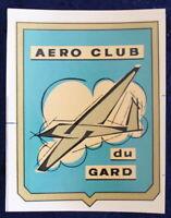 AÉRO-CLUB du GARD - Ancien Décalcomanie E. Mulin
