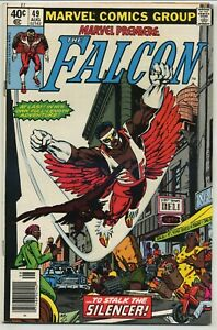 Marvel Premiere 49 First Solo Falcon High Grade