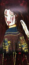 """""""La Chola"""" by Henri Peter, 14x 32"""" Signed Limited Edition Canvas Reproduction"""