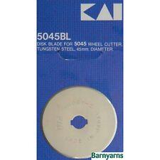 Kai Rotary Cutter Lama-LAMA DI RICAMBIO ORIGINALE PER Kai Cutter 45mm x 1