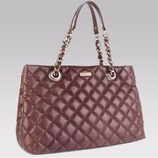 KATE SPADE leather Liberty Street HELENA Maryanne lizard bag FRENCH ROAST BROWN