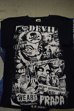 The Devil Wears Prada We Are Outnumbered Blue Tee T-Shirt Small S Zombie Ferret