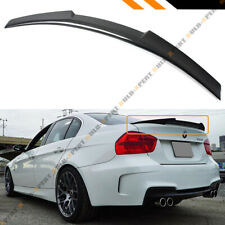 FOR 06-11 BMW E90 3 SERIES SEDAN & M3 CARBON FIBER TRUNK SPOILER WING-M4 STYLE