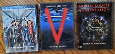 Sci Fi / Fantasy Movie Lot - 3 Dvd's - Last Stand, V, Mortal Kombat
