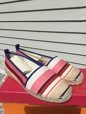 KATE SPADE NIB ESPADRILLES SHOES 8.0 LILLIAD MULTI COLOR BERBER