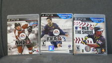 3 PS3 Games - NHL 13, FIFA 14, MLB 13 The Show