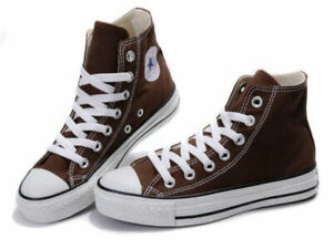 Brown Converse Chuck Taylor All Star Hi Top
