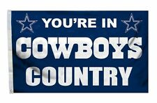 Dallas Cowboys 3x5 Country Design Flag [New] Nfl Banner Sign Fan Wall House