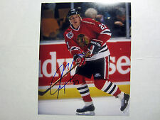 JEREMY ROENICK Chicago Blackhawks SIGNED Autographed 8X10 Photo w/ COA
