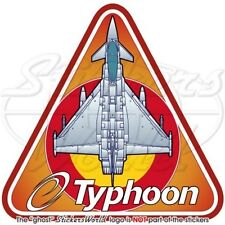 Eurofighter EF2000 TYPHOON Spanish AirForce SPAF Spain, Vinyl Sticker, Decal