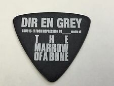 Guitar Pick DIR EN GREY TOUR 16-17 PA-DD08-THE MARROW OF A BONE Black Toshiya