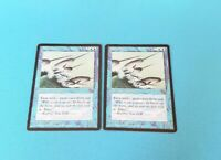 MTG x2 Narwhal Moderate Play Magic Card Magic Homelands Rare