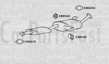 Exhaust Middle Box Ford Maverick 2.7 Diesel Van 07/1996 to 12/1998