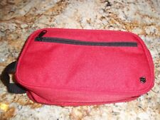 Victorinox Swiss Army Red  Travel Toiletry Bag New