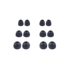 KZ earbuds silicone rubber earphone tips replacement ear tips earbuds