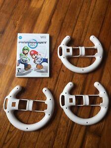 Mario Kart (Nintendo Wii, 2008) No Manual Tested With 3 Wheels