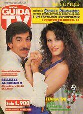 rivista NUOVA GUIDA TV ANNO 1990 NUMERO 26 MARCO COLUMBRO E SABINA STILO