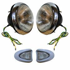 Vintage Headlamp with Side Indicator Suitable Bedford TJ J J0 J1 J2 J3 Series