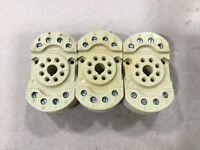 Lot Of 3 Schrack Relay Sockets Base Socket 10A 380V #104C19