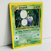 INK ERROR MISPRINT JUMPLUFF HOLO  7/111 Neo Genesis  Pokemon Card EX/Light play