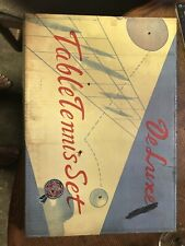 Vintage Table Tennis Set For 2 (old)