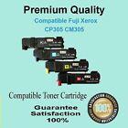 4x Compatible CP305 CM305 Toner cartridg for Fuji Xerox DocuPrint CM305D CM305DF