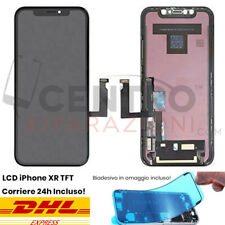 DISPLAY LCD TOUCH SCREEN FRAME PER APPLE IPHONE XR TFT SCHERMO VETRO NERO