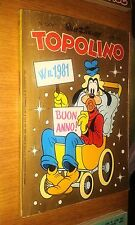 TOPOLINO LIBRETTO # 1309 - 28 DICEMBRE 1980 - WALT DISNEY-