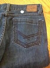 BKE Brooke skinny distressed women's denim blue jeans size 27 #26