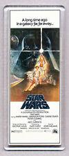 STAR WARS - movie poster  WIDE FRIDGE MAGNET - George Lucas CLASSIC!