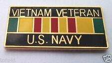 ** VIETNAM VETERAN US NAVY ** Military  Veteran Hat Pin 15628 HO