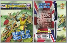 4799 Commando Eagles of New Eden NEW 63 Page Story War Book The Home of Heroes